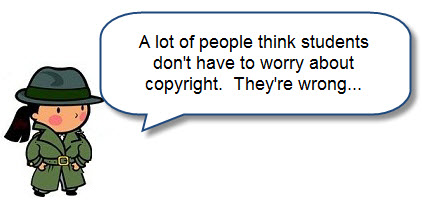 Students need to pay attention to copyright